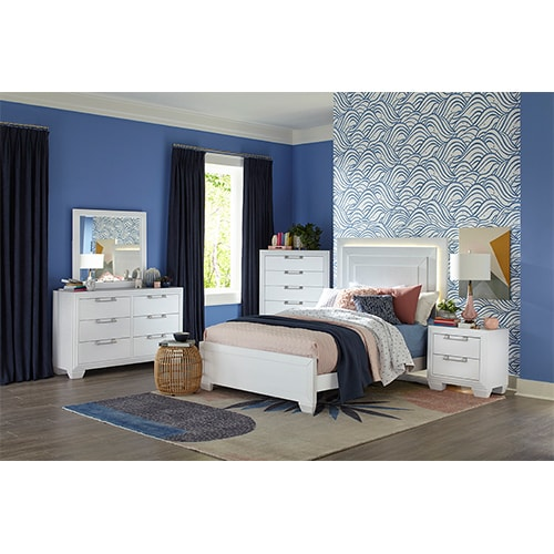 Fantasy Youth Bedroom - Full Bed 3pc Set
