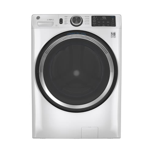 GE® 4.8 cu. ft. Front Load Washer with UltraFresh Vent System - GFW550SSNWW