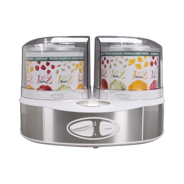 Cuisinart Flavor Duo Frozen Yogurt-Ice Cream & Sorbet Maker - ICE40WS