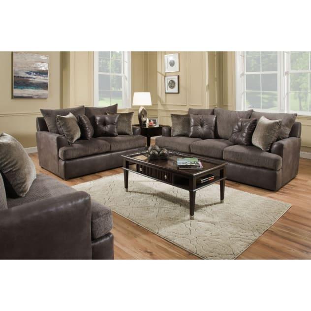Kinetic Living Room - Sofa & Loveseat - KINETIC2PCLR