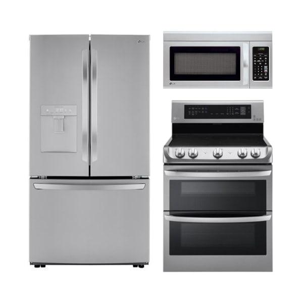LG Stainless Kitchen 3-pc Pkg - LK2021F33PKG