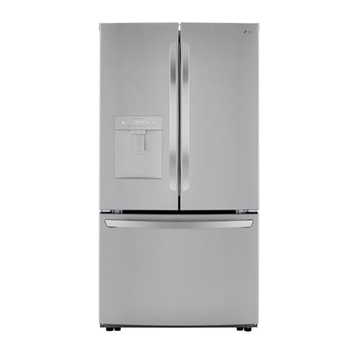 LG 29 cu ft. Smart wi-fi Enabled French Door Refrigerator with Slim Design Water Dispenser - LRFWS2906S