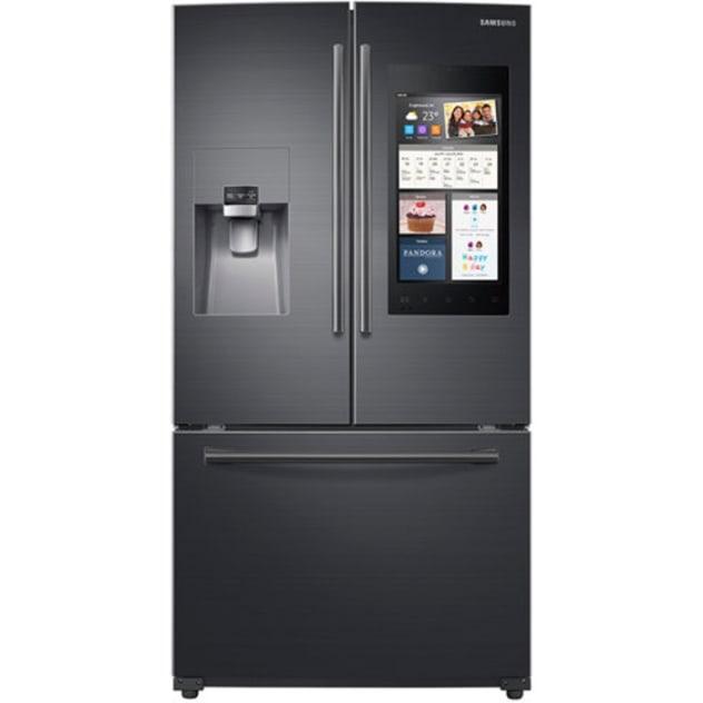 Samsung 24 Cu. Ft. Capacity 3 -Door French Door Refrigerator w/ Family Hub™ - RF265BEAESG