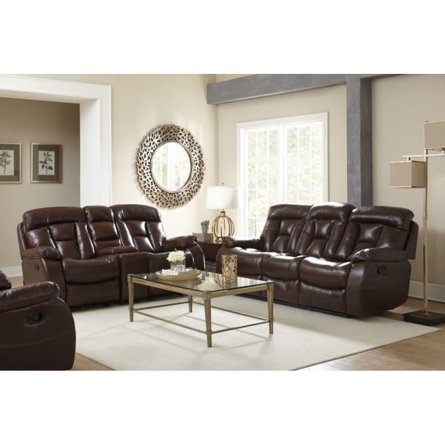 Sabine Living Room - Dual Reclining Sofa & Loveseat - XW9357