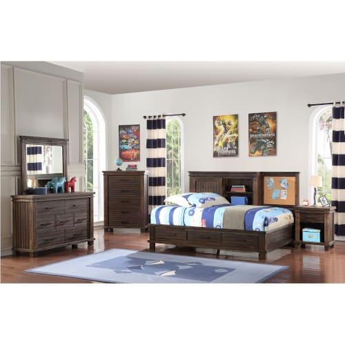 Vanguard Bedroom - 3PC Twin Studio Set
