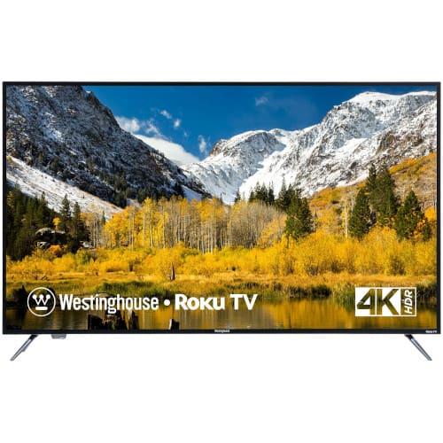 """65"""" Class LED 4K UHD Smart TV Promo"""