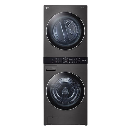 LG Single Unit Front Load WashTower™ w/Center Control™ 4.5 cu. ft. Washer and 7.4 cu. ft. Electric Dryer