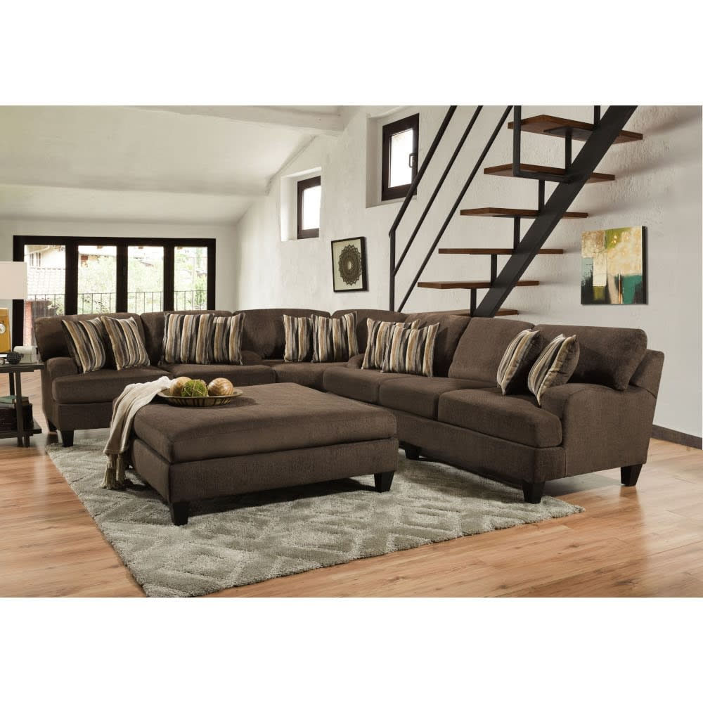 Brooklyn Sectional - Sofa, Loveseat & Wedge - BROOKSECT