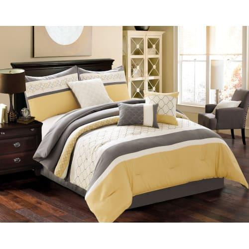 Conley 6 Piece Comforter Set - Queen (80295)