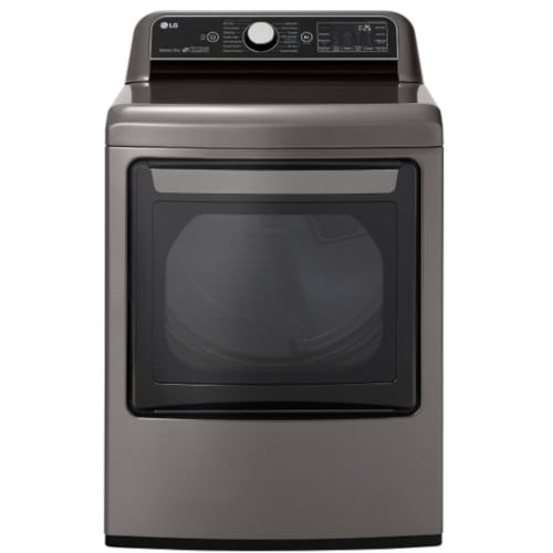 LG 7.3 CU FT. Smart Wi-Fi Enabled Electric Dryer with TurboSteam™ Technology (DLEX7800VE
