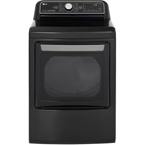 LG 7.3 Cu. Ft. Smart Wi-Fi Enabled Electric Dryer with TurboSteam™ - DLEX7900BE
