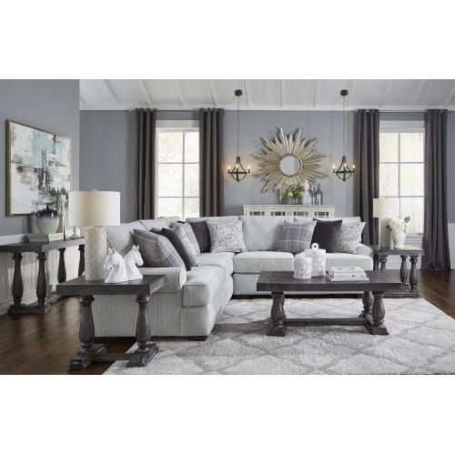 Essex Living Room Collection - Sofa and Loveseat - ESSEX2PCSECT