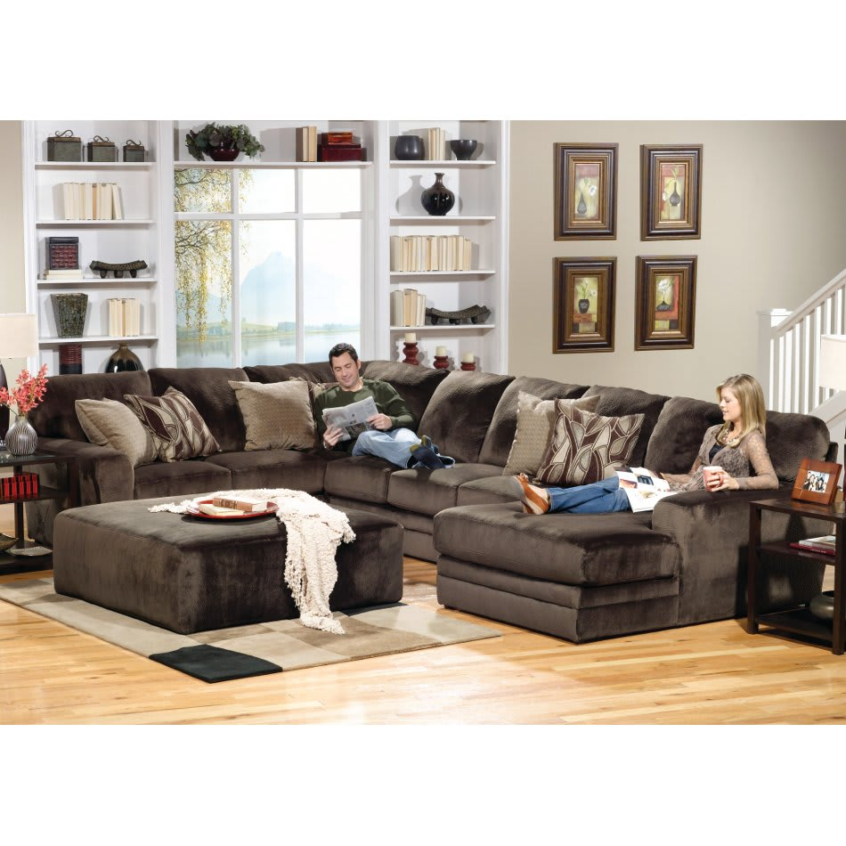 Everest Sectional - Armless Sofa, LAF Sectional & RSF Chaise (4377)