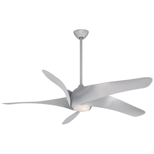 """Minka Aire 62"""" Artemis™ XL5 Ceiling Fan with LED Light Silver"""