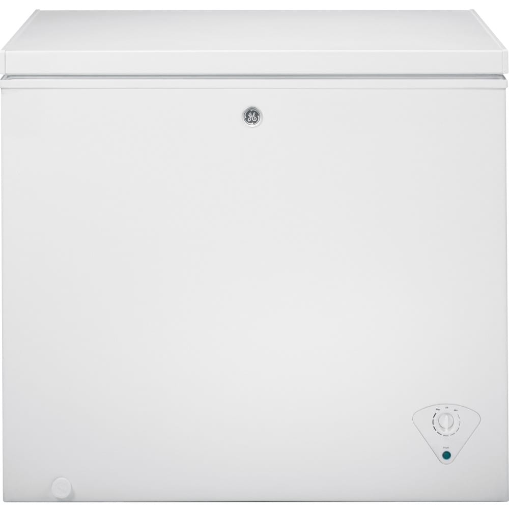 GE® 7.0 Cu. Ft. Manual Defrost Chest Freezer (FCM7SKWW)