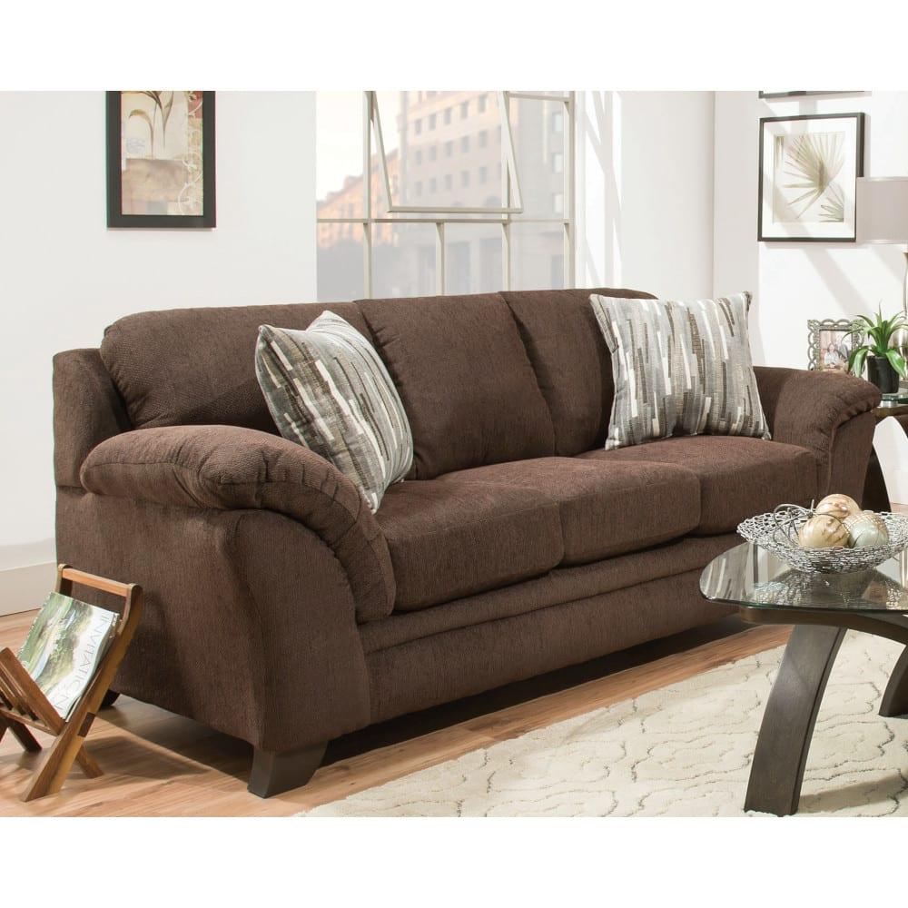 Jensen Sofa - Chocolate (8433)