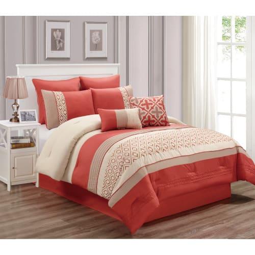 Lindy 6 Piece Comforter Set - King - 80285