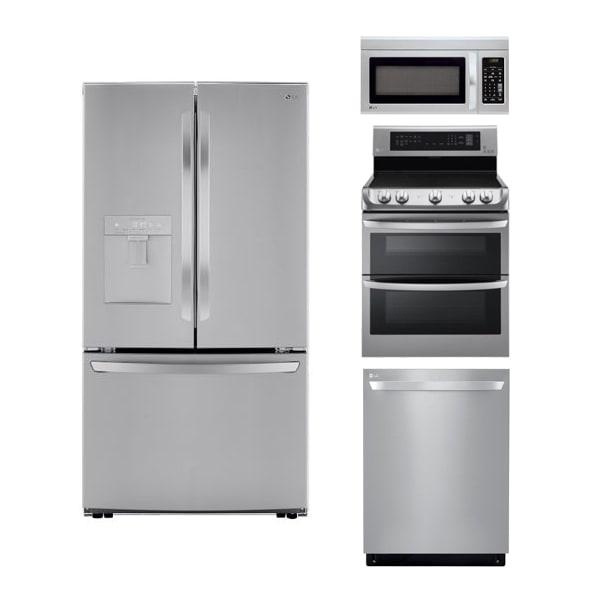 LG Stainless Kitchen 4-pc Pkg - LK2021F44PKG
