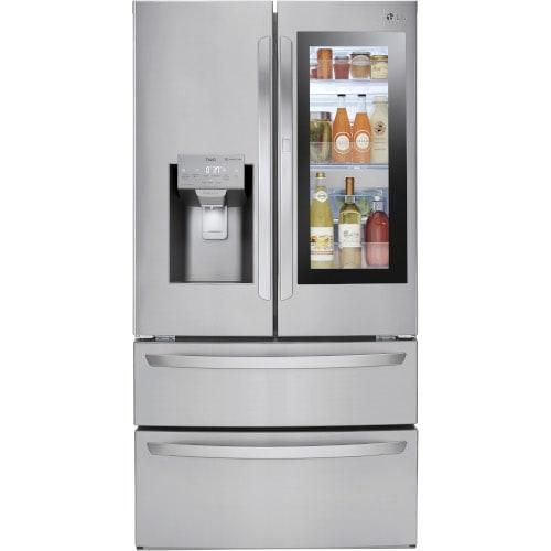 LG 27.6 Cu. Ft. Smart wi-fi Enabled InstaView™ Door-in-Door® Refrigerator - LMXS28596S