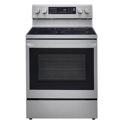 LG 6.3 cu ft. Smart Wi-Fi Enabled True Convection InstaView™ Electric Range