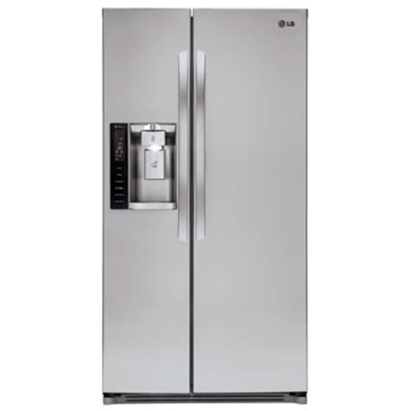 LG 26.2 Cu. Ft. Large Capacity Side-by-Side Refrigerator - LSXS26326S
