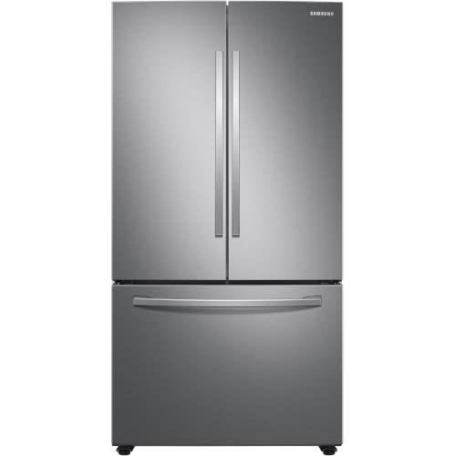 Samsung 28 Cu. Ft. Large Capacity 3-Door French Door Refrigerator - RF28T5001SR
