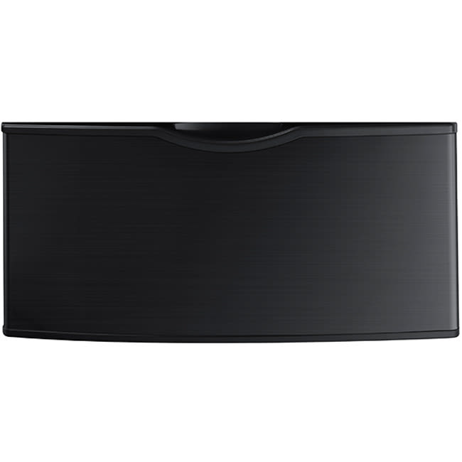 Samsung Laundry Pedestal with Storage Drawer - Black Stainless Steel