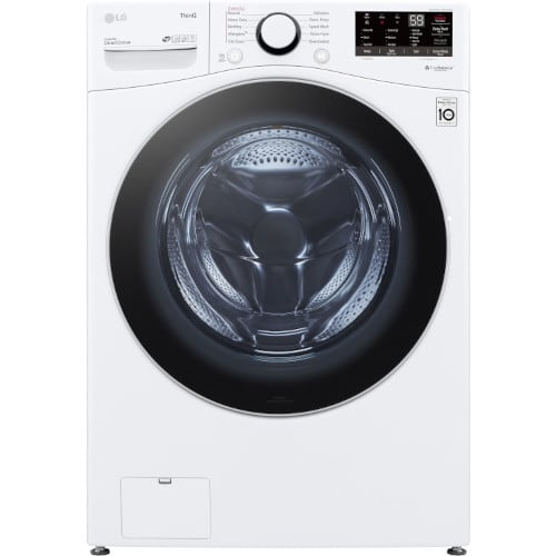 LG 4.5 cu. ft. Ultra Large Capacity Smart wi-fi Enabled Front Load Washer - WM3600HWA