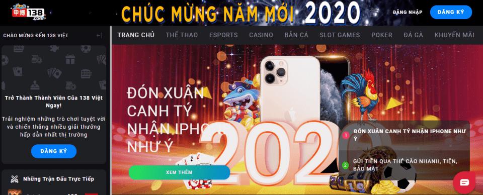 138bet casinoso1 2020