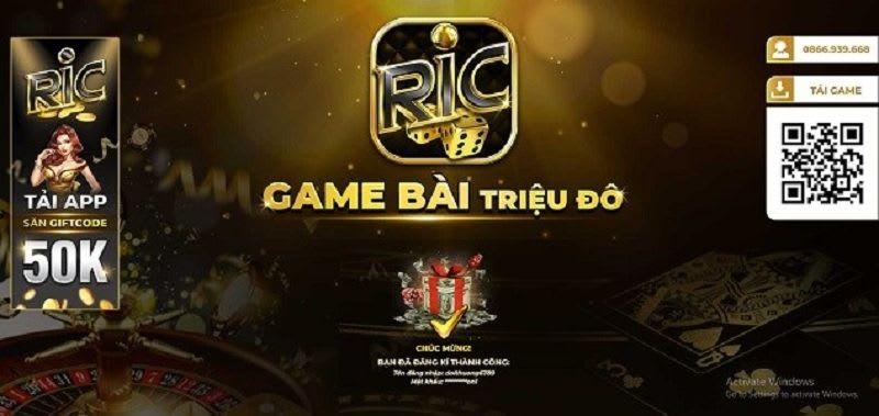 cong game ric.win  - Ric.Win – cổng game bài triệu đô thu hút đông đảo người chơi mỗi ngày