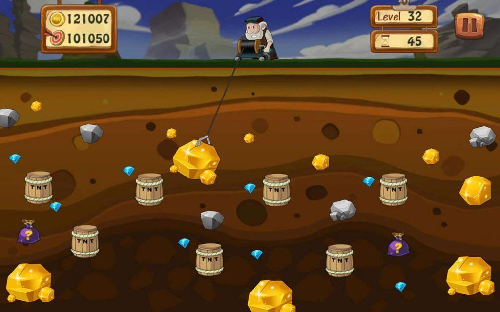 Game đào vàng có cách chơi khá đơn giản