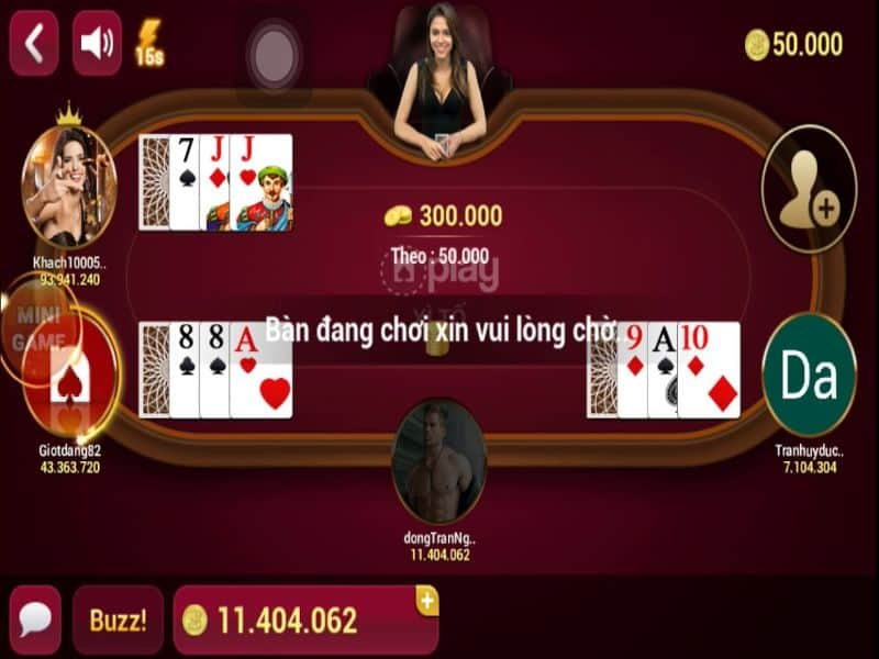 Người chơi giữ bộ bài cao nhất ở vòng cược cuối sẽ giành chiến thắng