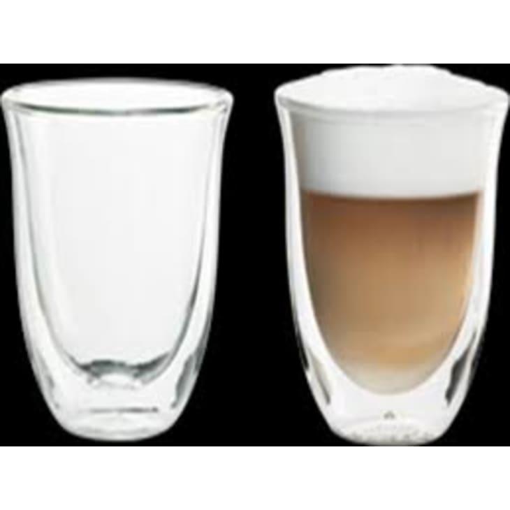 Delonghi 2 Cappuccino Glasses