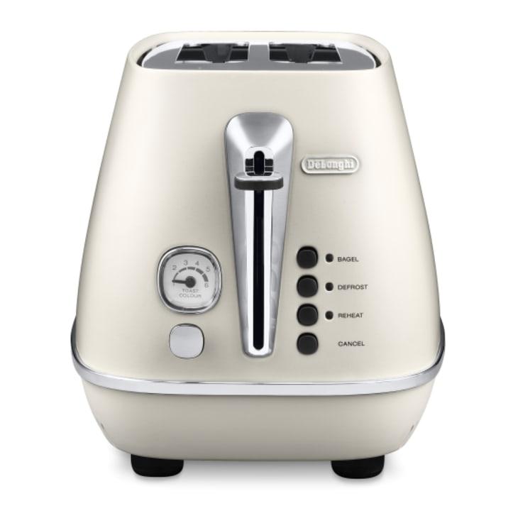 Delonghi Distinta 2 Slice White Toaster