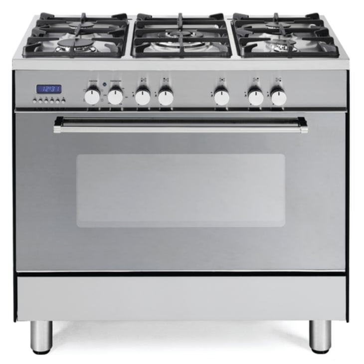 Delonghi Freestanding Oven with Gas Cooktop and Wok