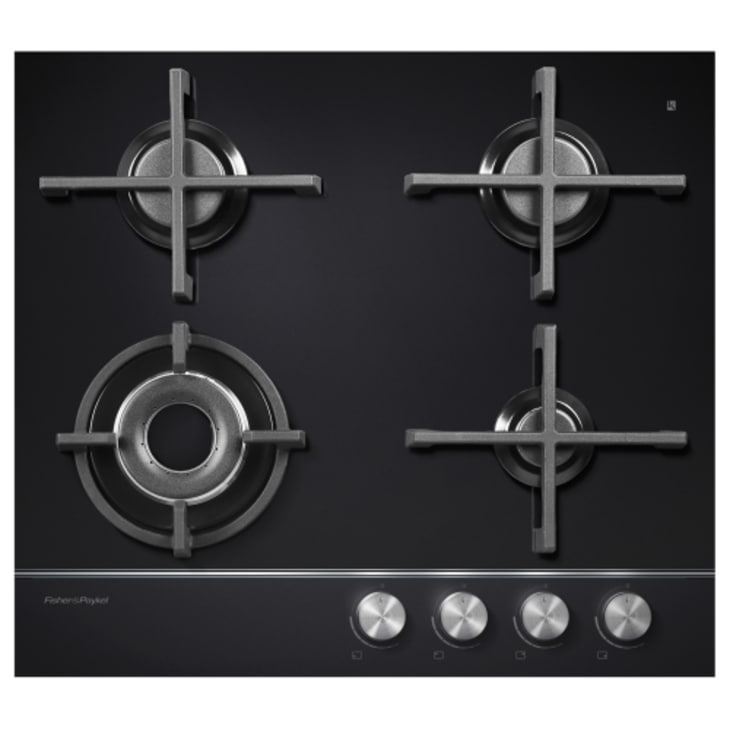 Fisher & Paykel Gas On Glass Cooktop Natural Gas