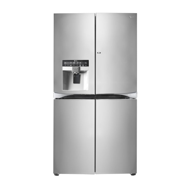 LG 712L French Door Fridge, with Door-In-Door®, in Black Stainless Steel