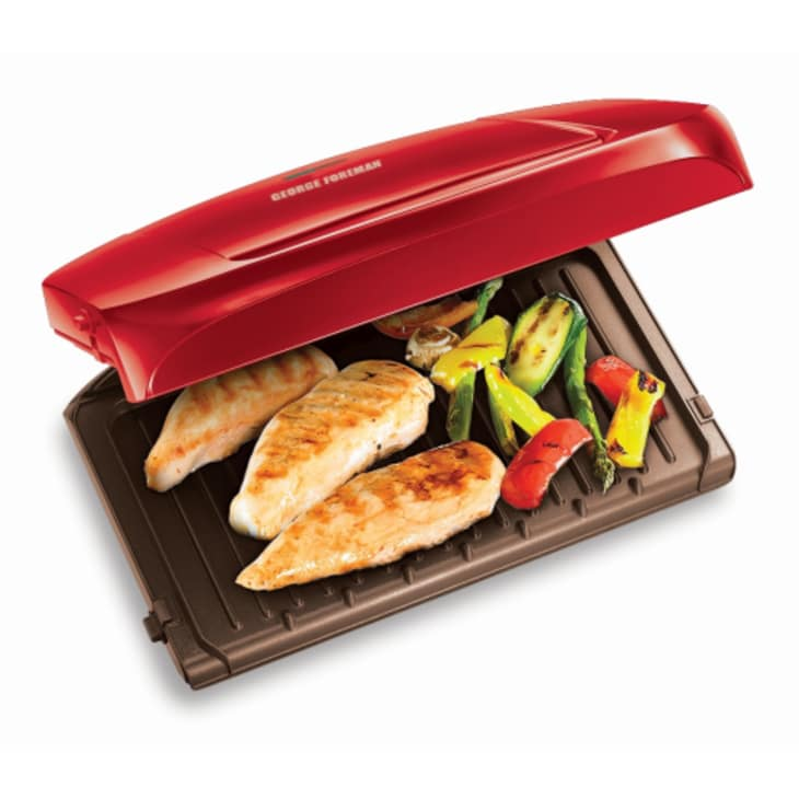 George Foreman Removable Plate Grilling Machine