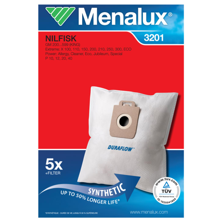 Menalux Vacuum Cleaner Bags