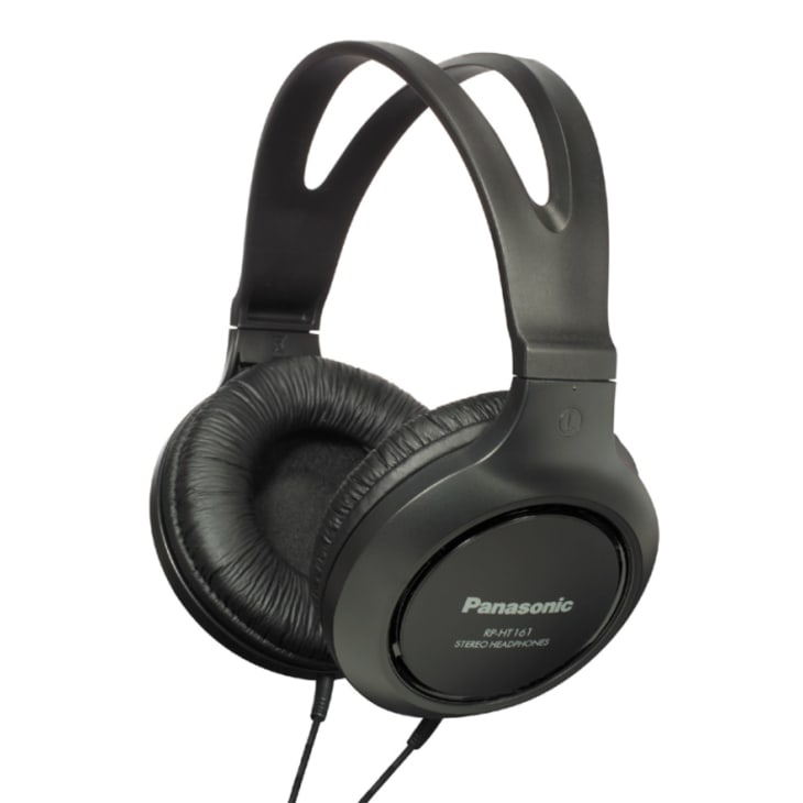 Panasonic RPHT161EK Over Ear Full Size Headphones
