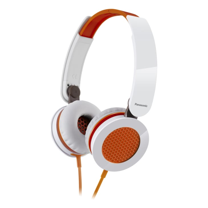 Panasonic Over Ear Orange Headphones