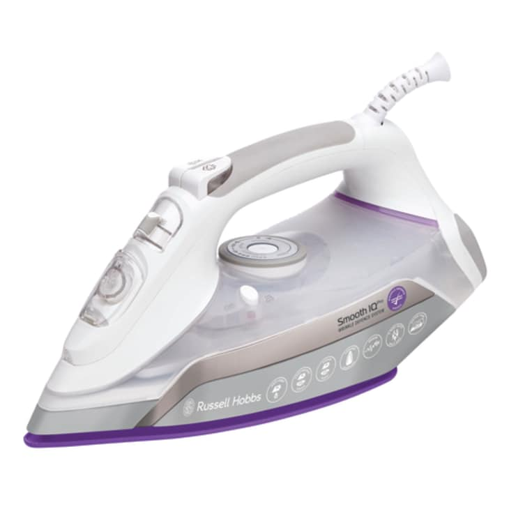 Russell Hobbs Smooth IQ Pro Iron - Botany and Homezone Stores Only