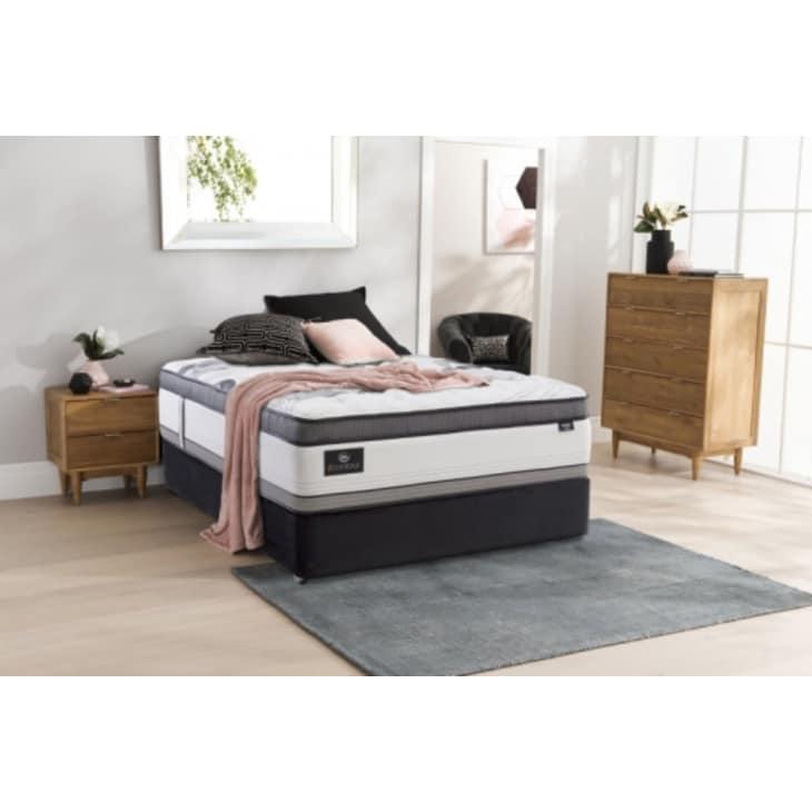 Serta iContour Olympia Bed Super King Split Base Plush