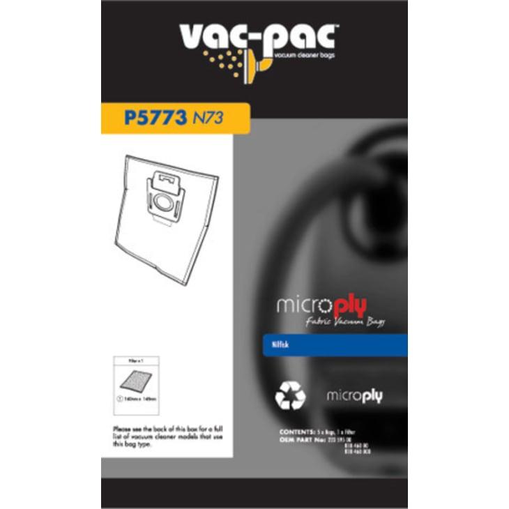 Vac-Pac N73 Microply Vacuum Cleaner Bags