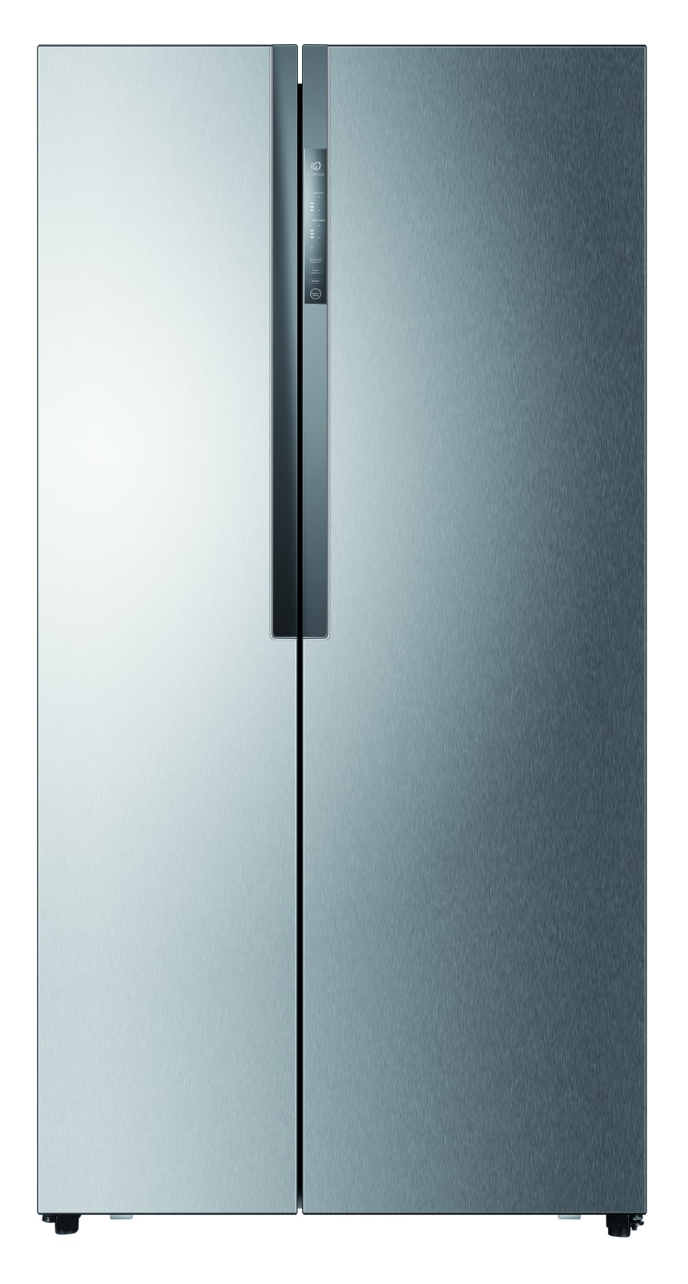 haier 555l stainless steel side by side refrigerator. Black Bedroom Furniture Sets. Home Design Ideas