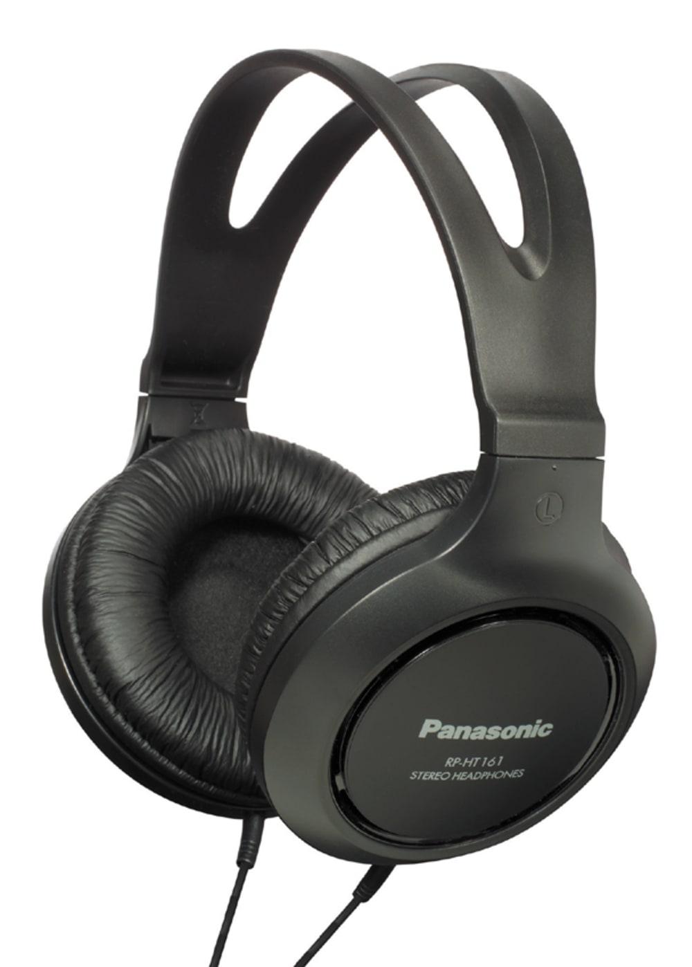 Panasonic RPHT161EK Over Ear Full Size Headphones