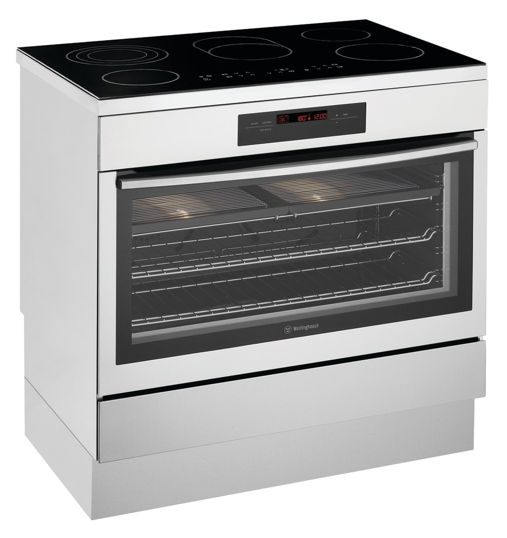 Westinghouse 900mm Freestanding Oven With Ceramic Cooktop
