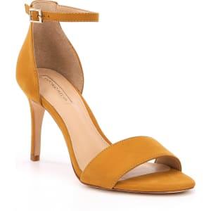Antonio Melani Pierrson Nubuck Leather Ankle Strap Dress Sandals LERKQtPKw