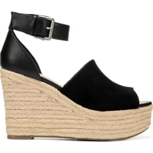 Airy Women's SandalsblackFrom Famous Wedge Espadrille Rd Indigo j4RLA35