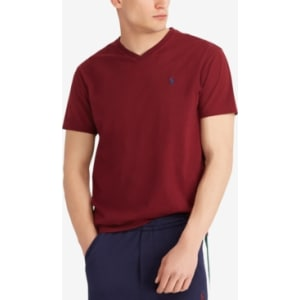 54ee453ef Polo Ralph Lauren Men's Big and Tall Classic-Fit V-Neck Short-Sleeve ...